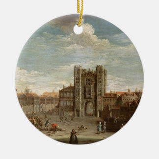 Old Whitehall and the Privy Garden Christmas Ornament