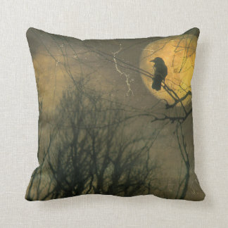 Old Wicked Moon Throw Pillow
