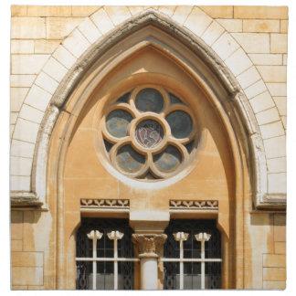 Old window in Oxford, UK Napkin