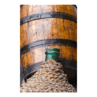 old wine barrel stationery