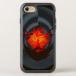 Old Withered Tree - Fire OtterBox Symmetry iPhone 8/7 Case