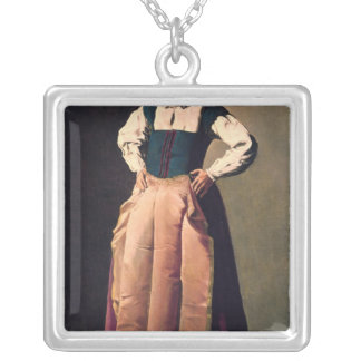 Old Woman, c.1618-19 Silver Plated Necklace
