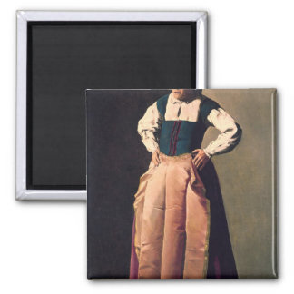 Old Woman, c.1618-19 Square Magnet