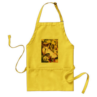 Old Woman Who Lived in a Shoe Standard Apron