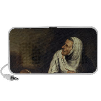 Old Woman with Dog Travelling Speaker