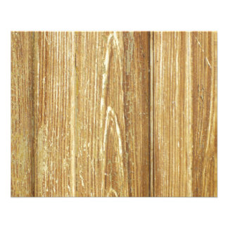 old wood 11.5 cm x 14 cm flyer