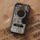 Old Wood Acoustic Guitar Tough Xtreme iPhone 6 Case