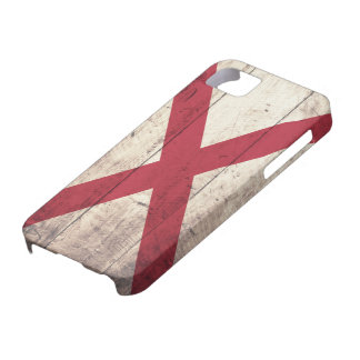 Old Wood Alabama Flag Barely There iPhone 5 Case