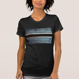 Old Wood Botswana Flag; Shirt