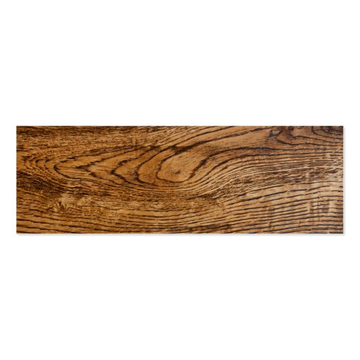Old wood grain look business card templates