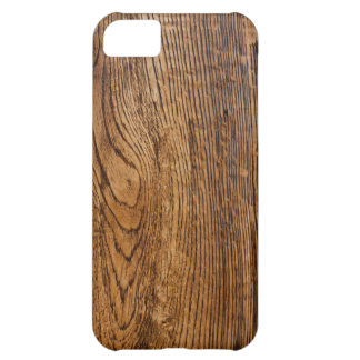 Old wood grain look iPhone 5C case
