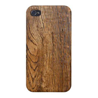 Old wood grain look iPhone 4/4S cases