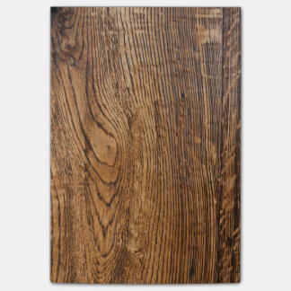 Old wood grain look post-it notes
