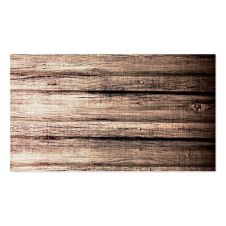 Old wood grain texture professional profile pack of standard business cards