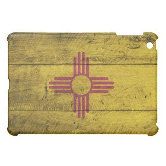 Old Wood New Mexico Flag; iPad Mini Cover