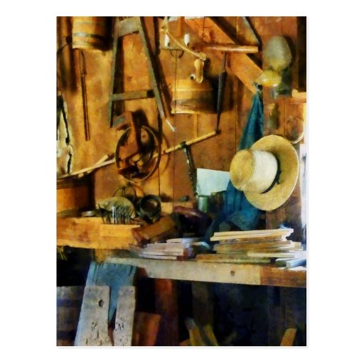Old Wood Shop Post Cards