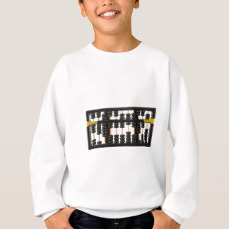 Old wooden abacus shirt