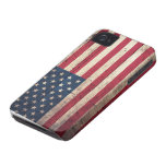 Old Wooden American Flag iPhone 4 Case-Mate Case