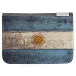 Old Wooden Argentina Flag; Kindle Keyboard Cases