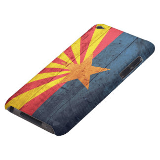 Old Wooden Arizona Flag iPod Touch Case-Mate Case