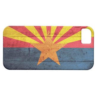 Old Wooden Arizona Flag iPhone 5 Case