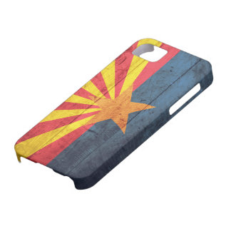 Old Wooden Arizona Flag iPhone 5 Case