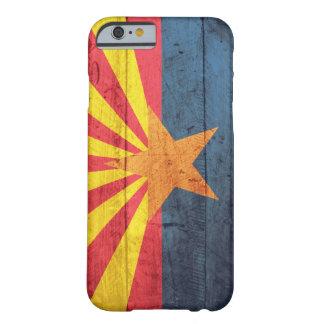 Old Wooden Arizona Flag iPhone 6 case