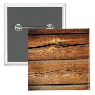 Old Wooden Background 15 Cm Square Badge