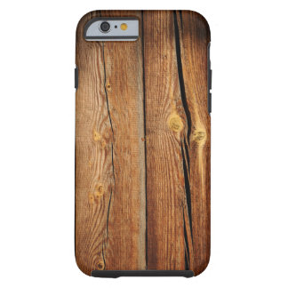 Old Wooden Background Tough iPhone 6 Case