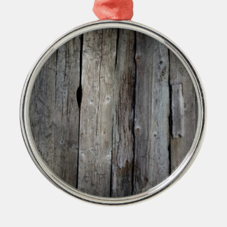 Old wooden background christmas ornament