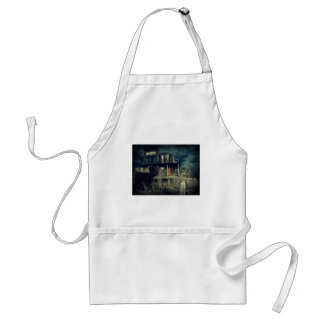 Old Wooden Building Wild West Ghost Town Standard Apron