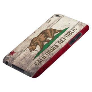 Old Wooden California Flag Barely There iPod Case