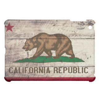 Old Wooden California Flag Case For The iPad Mini