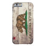Old Wooden California Flag iPhone 6 Case