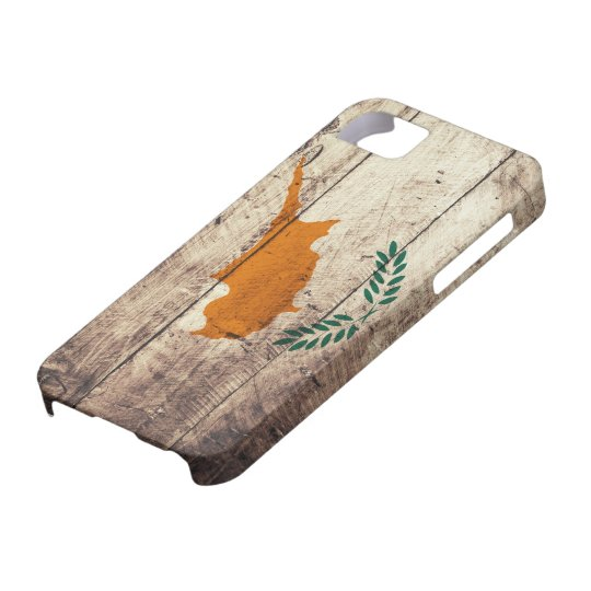 Old Wooden Cyprus Flag iPhone 5 Case