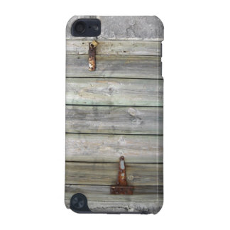 Old Wooden Door In A Stone Wall iPod Touch (5th Generation) Covers
