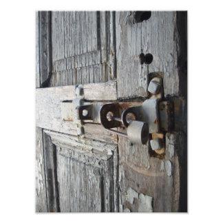 Old Wooden Door Art Photo