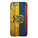 Old Wooden Ecuador Flag iPhone 6 Case