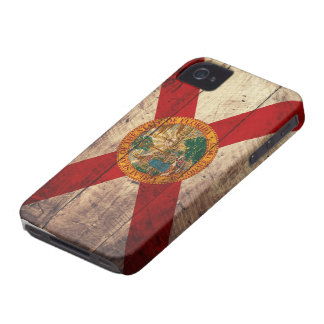 Old Wooden Florida Flag; iPhone 4 Covers