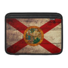 Old Wooden Florida Flag; Sleeve For MacBook Air