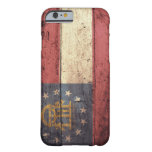 Old Wooden Georgia Flag; Barely There iPhone 6 Case