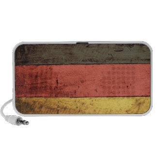 Old Wooden Germany Flag Mini Speaker