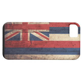 Old Wooden Hawaii Flag iPhone 5 Case