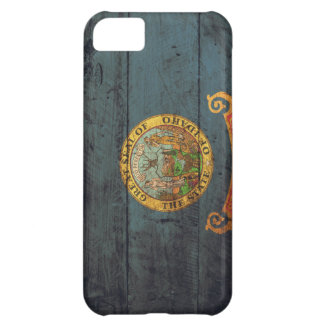 Old Wooden Idaho Flag; iPhone 5C Covers