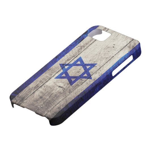 Old Wooden Israel Flag iPhone 5 Cover