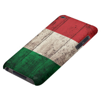 Old Wooden Italy Flag iPod Touch Case-Mate Case
