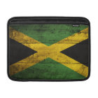 Old Wooden Jamaica Flag MacBook Sleeve