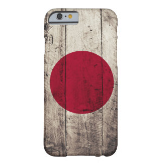 Old Wooden Japan Flag Barely There iPhone 6 Case