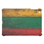 Old Wooden Lithuania Flag iPad Mini Covers