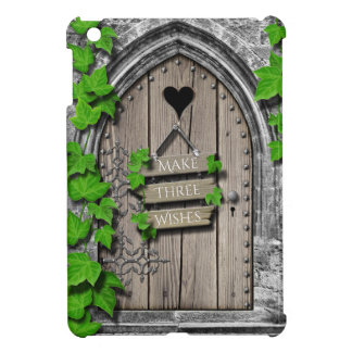 Old Wooden Magical Fantasy Fairy Wishing Door Cover For The iPad Mini